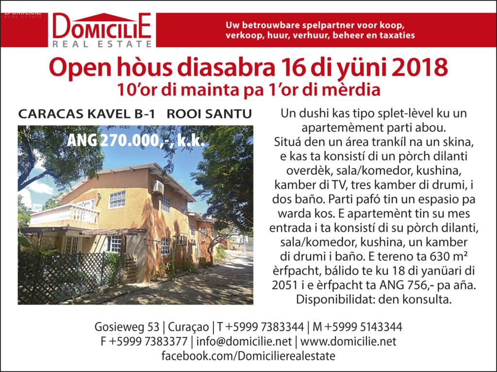 OPEN HOUSE – CARACAS kavel B1